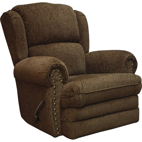 Jackson Furniture Braddock Rocker Recliner with Individually Driven Nail Heads
