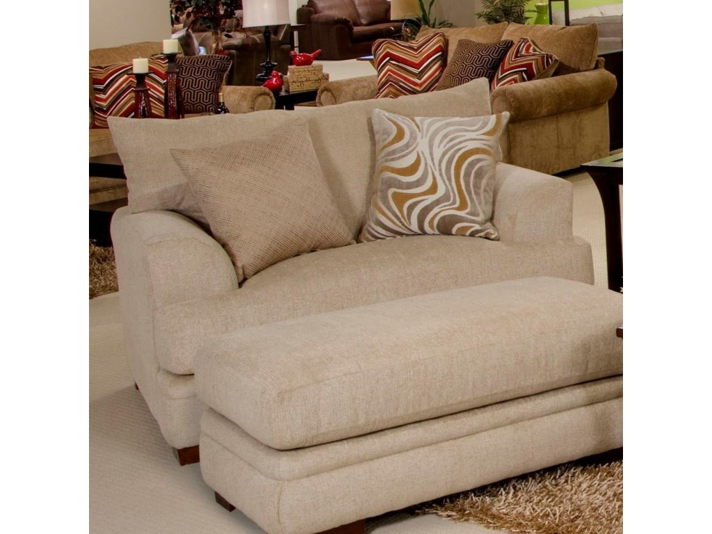 Shown with Matching Ottoman (Sold Separately)
