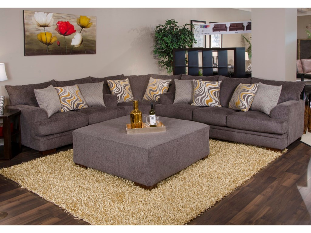 Shown as a Modular Component in a Sectional Sofa Configuration