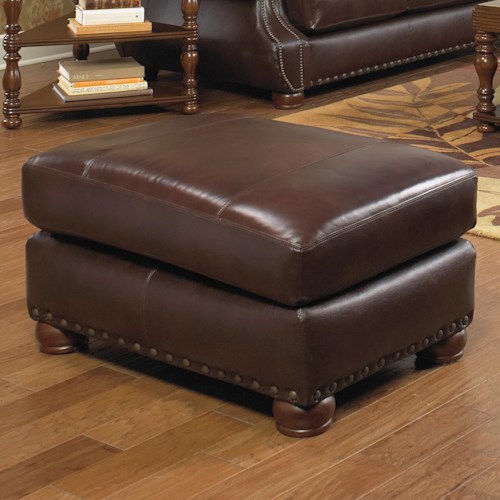 Jackson Furniture Dawson Ottoman with Traditional Style