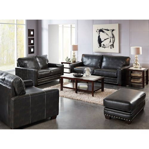 Jackson Furniture Elmsford Contemporary Living Room Group