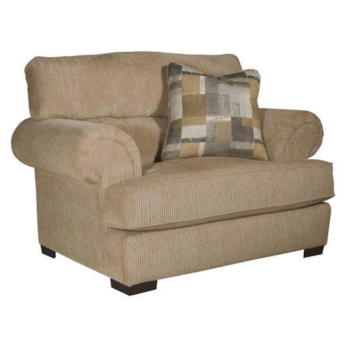 Jackson Furniture Hayden Chair and 1/2 with Extra Padded Seat Back