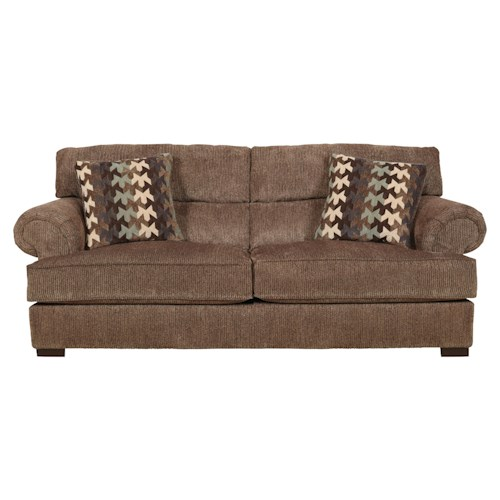 Jackson Furniture Hayden Sofa with Extra Padded Seat Back