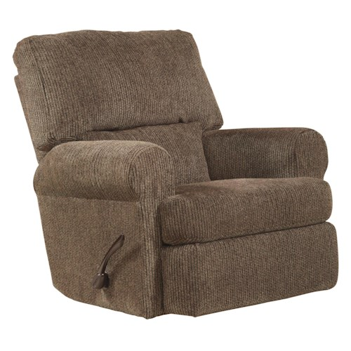 Jackson Furniture Hayden Rocker Recliner with Extra Padded Seat Back