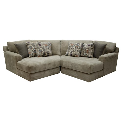 Jackson Furniture Malibu Two Seat Sectional