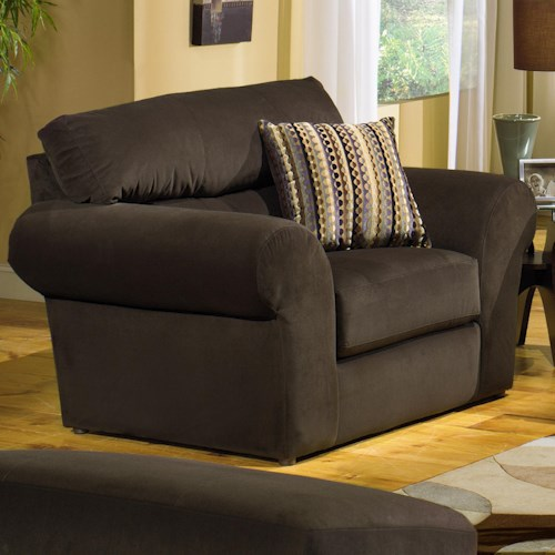 Jackson Furniture Mesa  Transitional Upholstered Chair