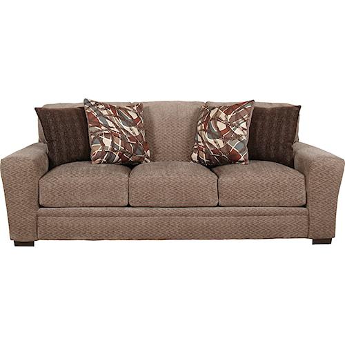 Jackson Furniture Prescott Casual Contemporary Sofa