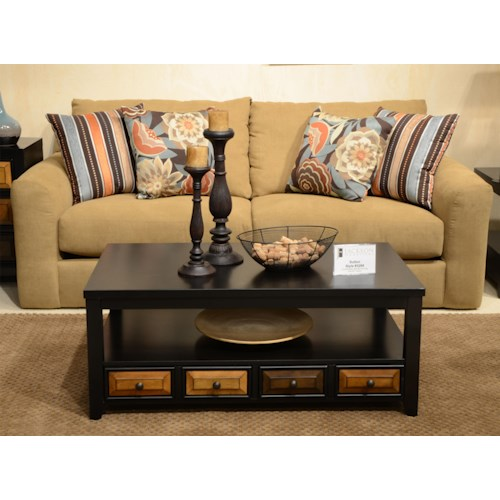 Jackson Furniture Sutton  Sofa with Casual Style