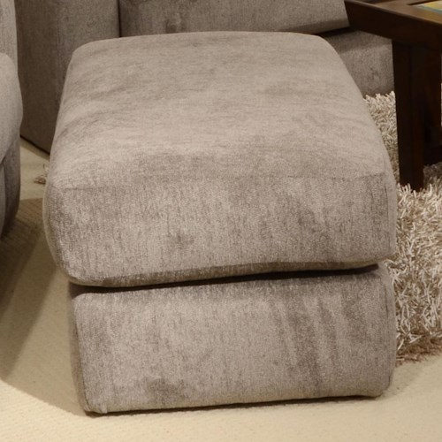 Jackson Furniture Sutton  Ottoman with Casual Style