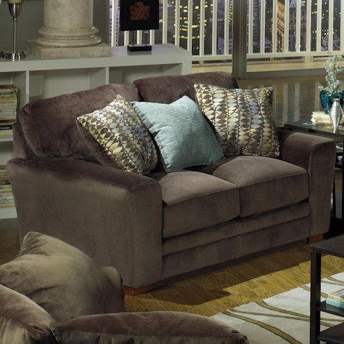 Jackson Furniture Whitney  Two Person Loveseat in Contemporary style