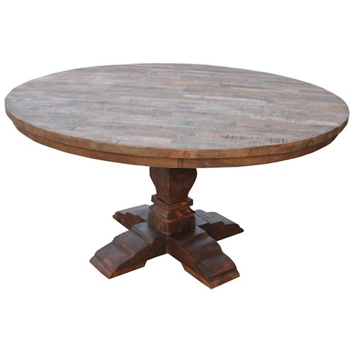 Morris Home Furnishings Morris Home Furnishings Ethiopia Round Dining Table