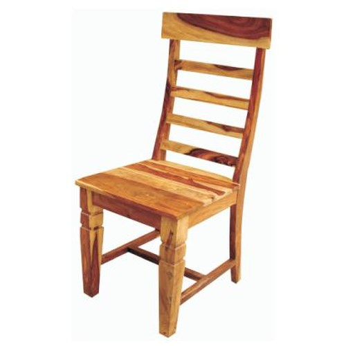 Morris Home Furnishings Brazil Rustic Ladder Back Dining Chair