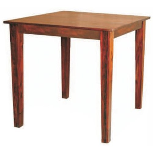 Morris Home Furnishings Morris Home Furnishings Canada  Square Solid Sheesham Wood Counter Table