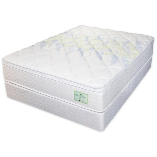 Jamison Bedding Wisteria Twin Euro Top Mattress Design