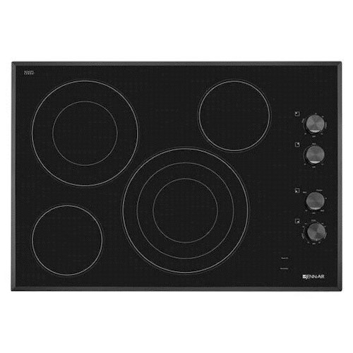 Jenn-Air Cooktops - Electric 30-Inch Electric Radiant Cooktop with Euro-Style Barrel Knobs