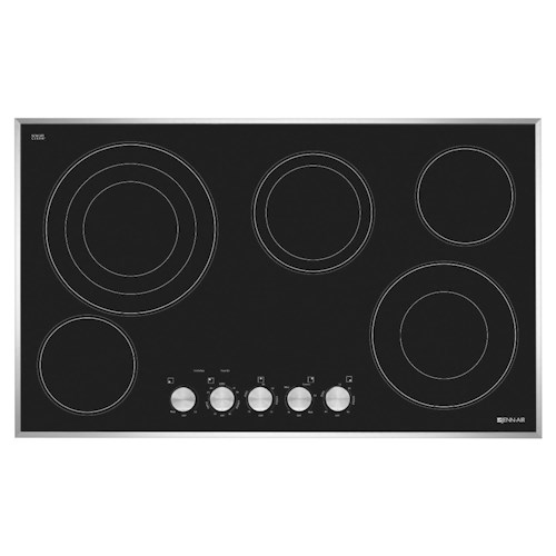 Jenn-Air Cooktops - Electric 36-Inch Electric Radiant Cooktop with Triple and Dual Choice™ Elements