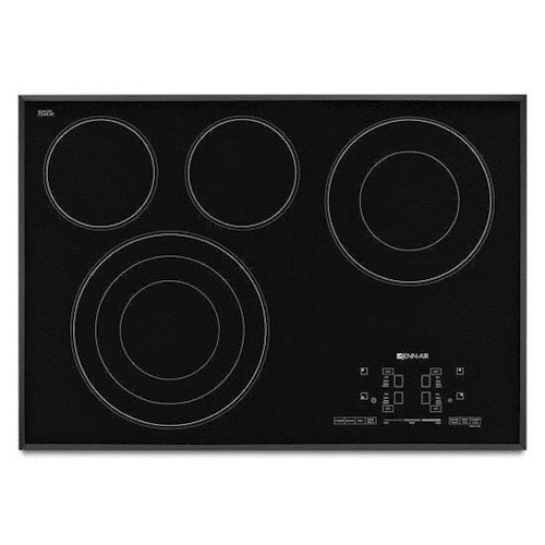 Jenn-Air Cooktops - Electric 30-Inch Electric Radiant Cooktop with Glass-Touch Electronic Controls