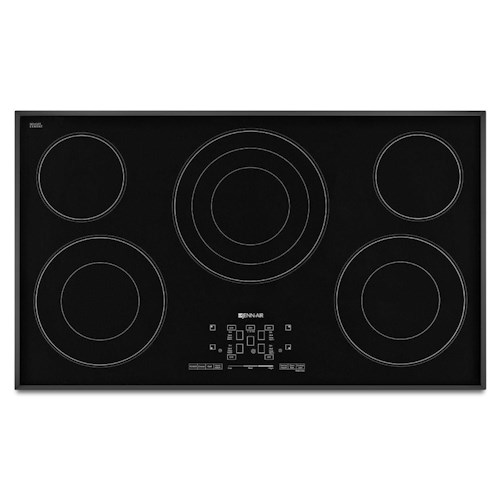 Jenn-Air Cooktops - Electric 36-Inch Electric Radiant Cooktop with Glass-Touch Electronic Controls