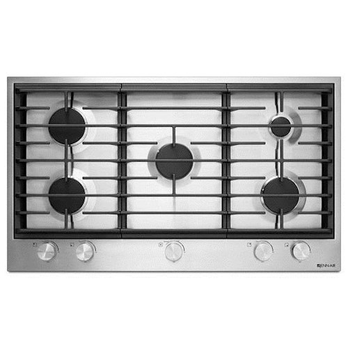 "Jenn-Air Cooktops - Gas 36"" Gas Cooktop with 19,000 BTU Dual-Stacked PowerBurner"