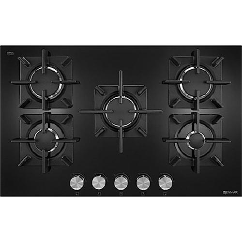 "Jenn-Air Cooktops - Gas 30"", Glass 5-Burner Gas Cooktop"