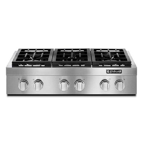 Jenn-Air Cooktops - Gas 36