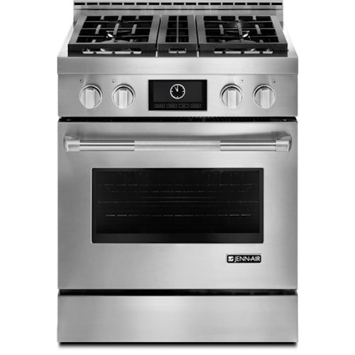 """Jenn-Air Ranges - Gas 30"""" Pro-Style® LP Range with MultiMode® Convection System"""