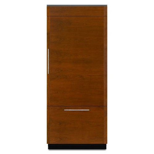 "Jenn-Air Refrigerators - Bottom Freezer ENERGY STAR® 36"" Fully Integrated Built-In Bottom-Freezer Refrigerator (Left-Hand Door Swing)"