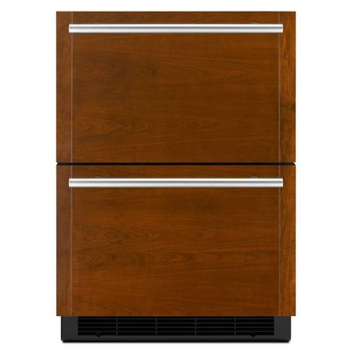 """Jenn-Air Special Compact Refrigeration 24"""" Double-Refrigerator Drawers"""