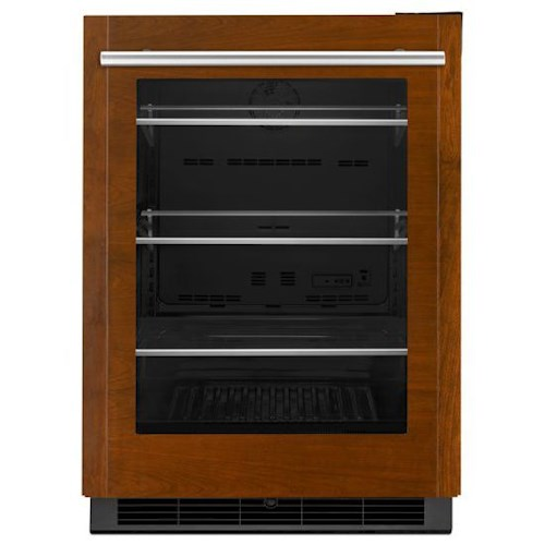 "Jenn-Air Special Compact Refrigeration 24"" Under Counter Refrigerator with Auto Light Display Option"