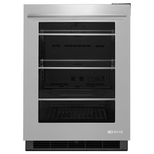 """Jenn-Air Special Compact Refrigeration 24"""" Under Counter Refrigerator with Auto Light Display Option"""