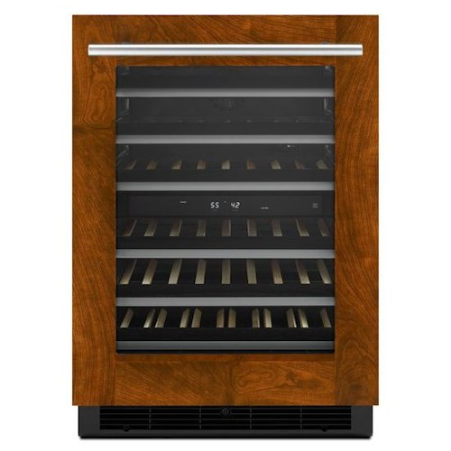 "Jenn-Air Special Compact Refrigeration 24"" Under Counter Wine Cellar with UltraGlide Soft-Close Racks"
