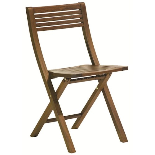 Jensen Leisure Gateleg Pearl Folding Outdoor Chair