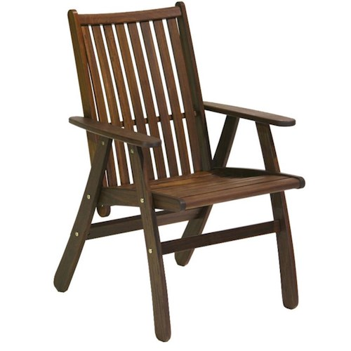 Jensen Leisure Governor Dining Chair w/ Slat Back