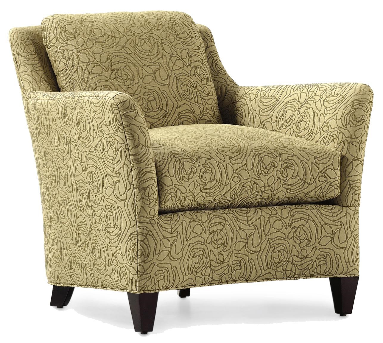 Jessica Charles Fine Upholstered Accents Grayson Upholstered Chair - Sprintz Furniture ...