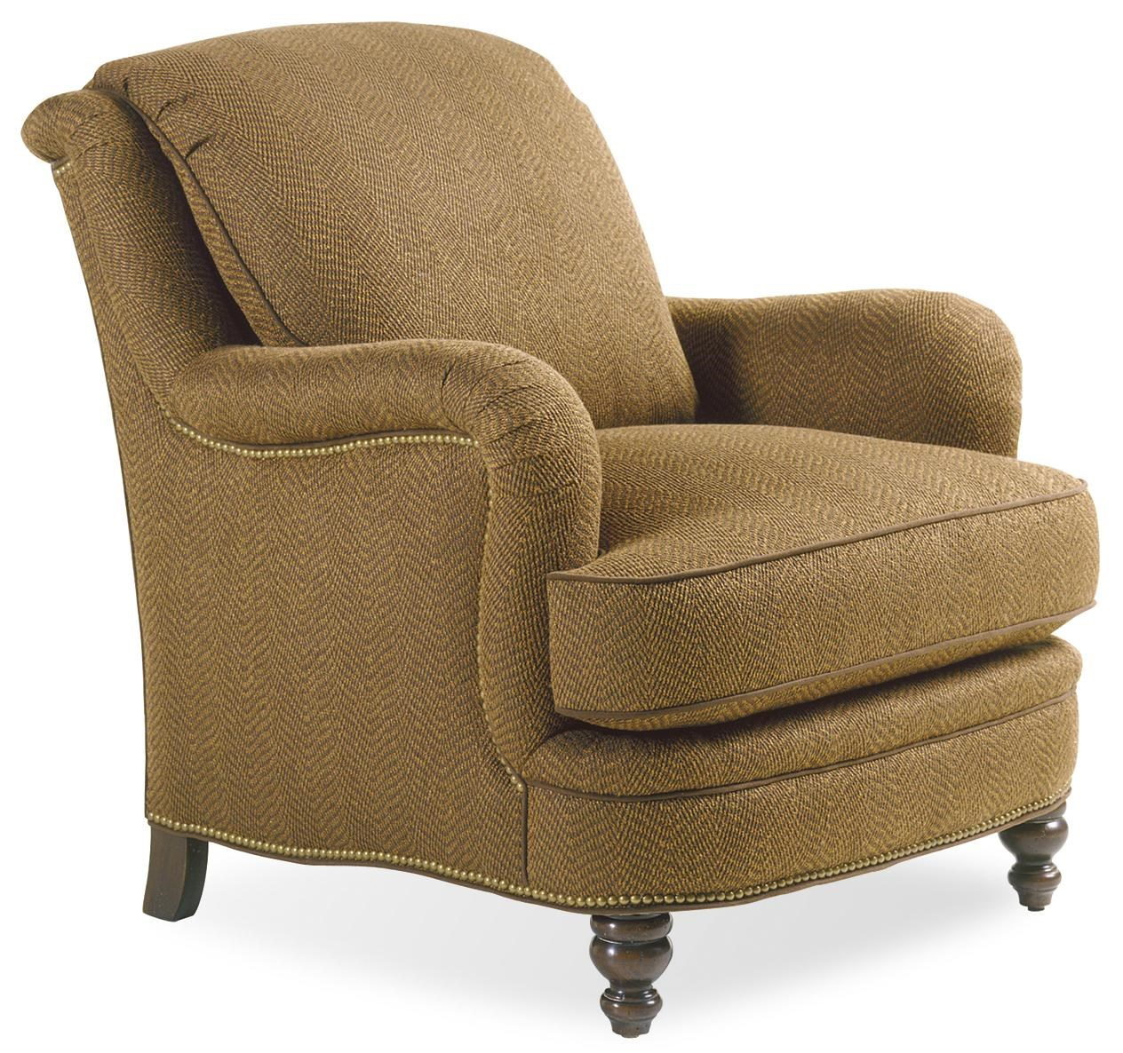 Jessica Charles Fine Upholstered Accents Placid Lounge Chair with Rolled Arms - Sprintz ...