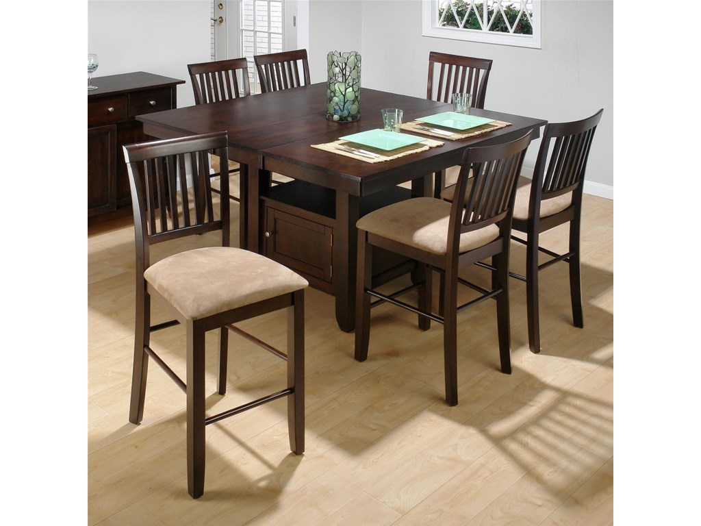 Shown with Counter Height Table w/ Butterfly Leaf