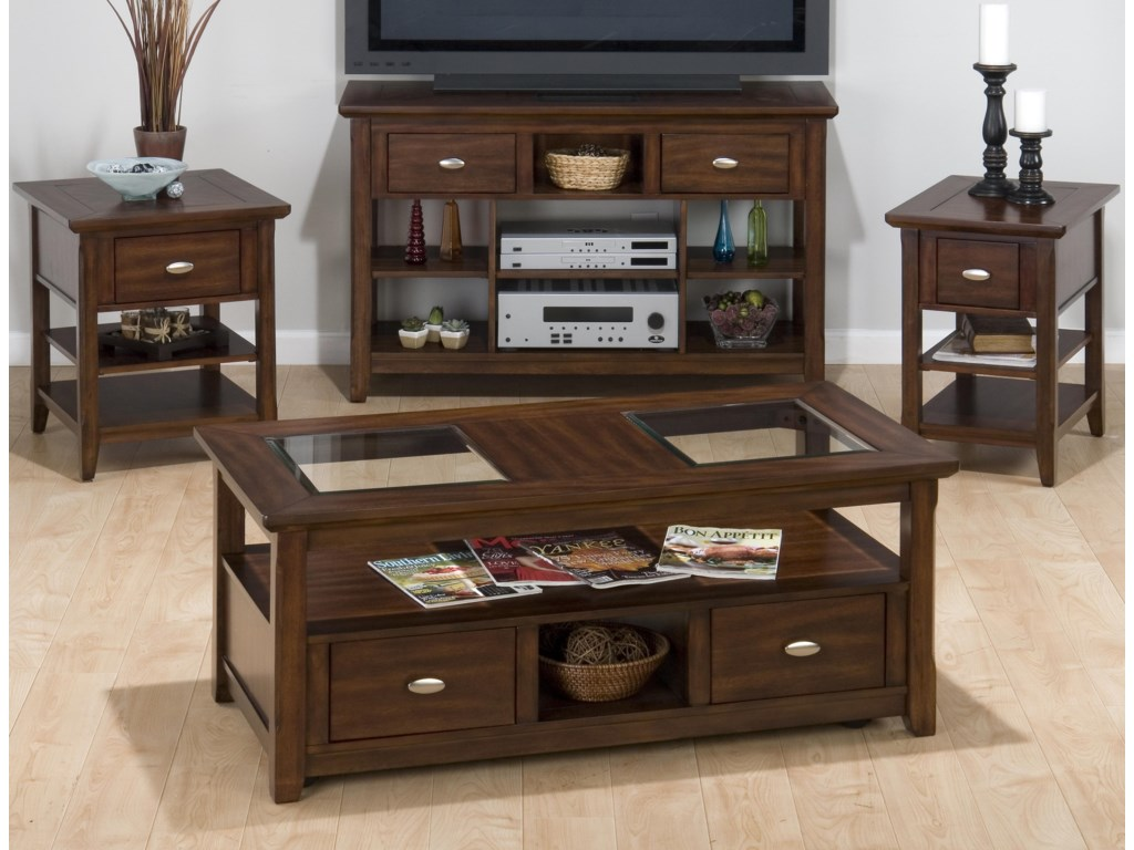 Shown with End Table, Coffee Table, and Side Table