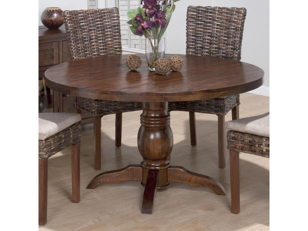 Shown with Rattan Side Chairs