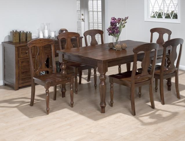 Shown with Napoleon Side Chairs and Buffet