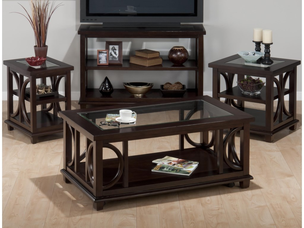 Shown with Chairside Table, Sofa Table, and End Table
