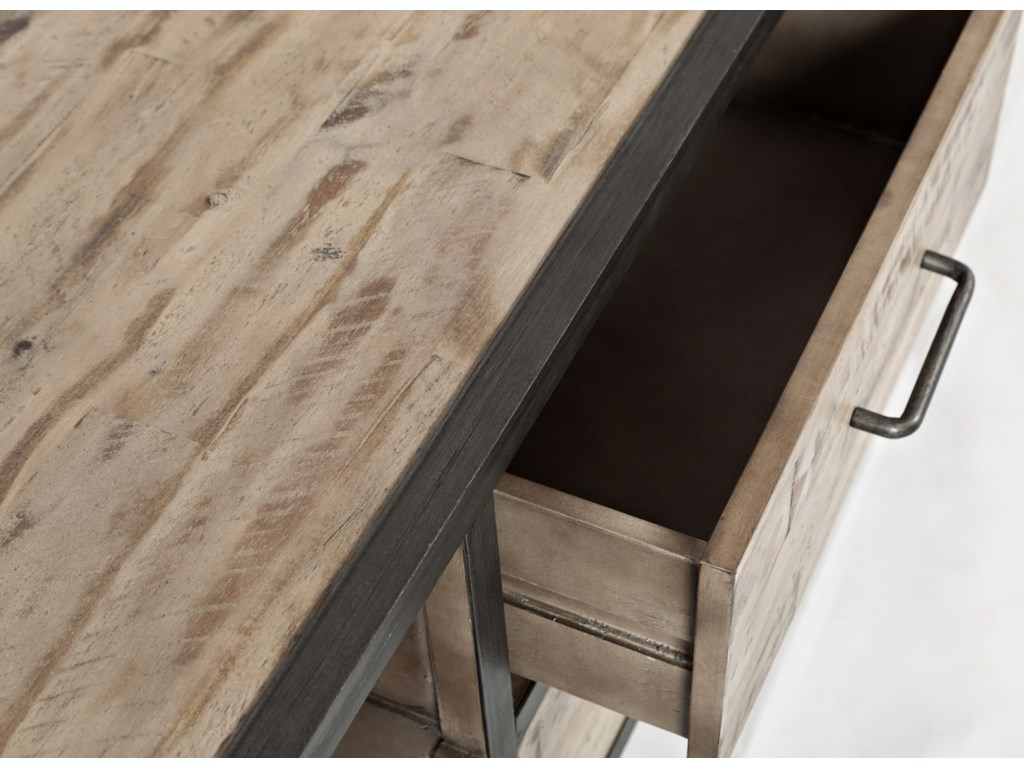 Table Top and Drawer Detail Shot