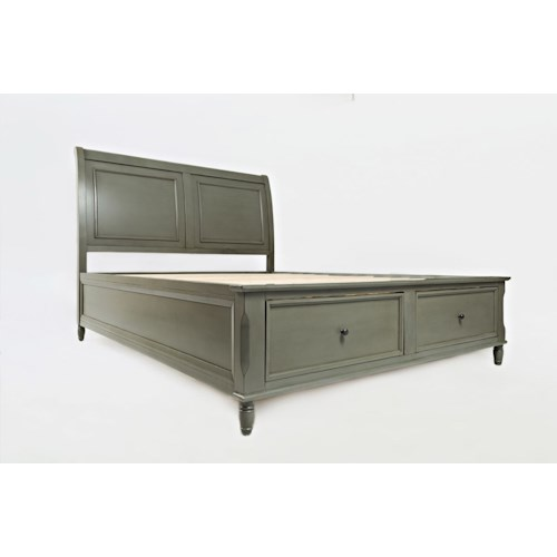 Jofran Avignon Youth Queen Storage Bed