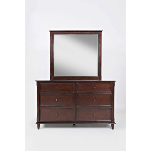 Jofran Avignon Youth Dresser and Mirror Set