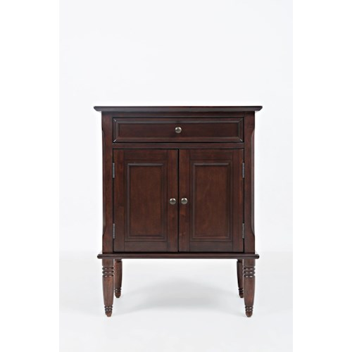 Jofran Boden: Cherry Door Nightstand