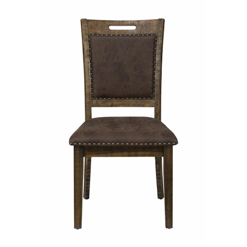 Jofran Calvin Cannon Valley Upholstered Back Dining Chair