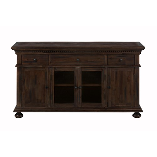 "Jofran Geneva Hills 60"" Multi-Purpose Media Cabinet with Storage"