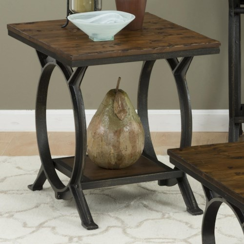 Jofran Harpers Press Harper's Press End Table