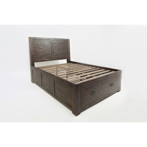 Jofran Jax Youth Full Storage Bed