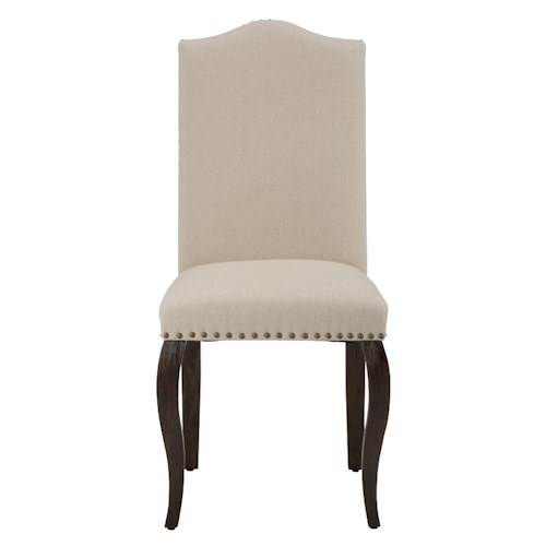Jofran Grand Terrace Upholstered Side Chair