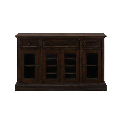 Jofran Grand Terrace Traditional Server with Four Doors and Drawers